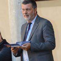 Foto Nicoloro G. 13/09/2017 Ravenna Si apre la settima edizione di ' Dante 2021 ' dal titolo ' il lungo studio e il grande amore '. Questo festival, attraverso una lunga serie di iniziative, portera' al settimo centenario della morte del Sommo Poeta. nella foto Domenico De Martino, direttore artistico Dante 2021.
