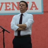Foto Nicoloro G. 03/06/2016 Ravenna Chiusura campagna elettorale amministrative del PD a Ravenna con l' intervento del presidente del Consiglio. nella foto il premier Matteo Renzi.