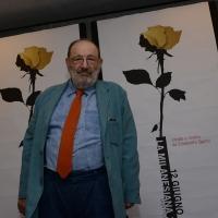 Foto Nicoloro G. 29/02/2016 Milano Panoramica di foto d' archivio di Umberto Eco. nella foto Umberto ospite alla Milanesiana del 26/06/2013.