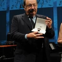 Foto Nicoloro G. 29/02/2016 Milano Panoramica di foto d' archivio di Umberto Eco. nella foto Umberto ospite alla Milanesiana del 06/07/2012 dove riceve il Premio Montblanc ' Protagonisti del cambiamento '.