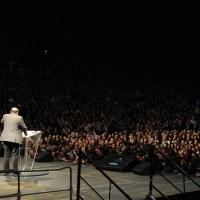Foto Nicoloro G. 29/02/2016 Milano Panoramica di foto d' archivio di Umberto Eco. nella foto Umberto Eco interviene alla manifestazione indetta da Libertà e Giustizia dal titolo ' Resignation-Dimissioni '.