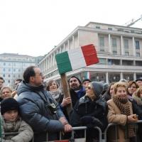 Foto Nicoloro G. 07/01/2011 Reggio Emilia Primo appuntamento ufficiale per i 150 anni dell' Unita' d' Italia alla presenza del capo