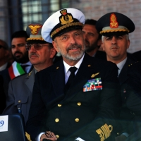 Foto Nicoloro G.   10/05/2015  Ravenna    Diciannovesimo raduno nazionale dei Marinai d' Italia. nella foto il Capo di Stato Maggiore della Marina Giuseppe De Giorgi.