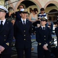 Foto Nicoloro G.   10/05/2015  Ravenna    Diciannovesimo raduno nazionale dei Marinai d' Italia. nella foto molte sono le donne che hanno scelto la carriera nella Marina Militare.