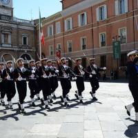 Foto Nicoloro G.   10/05/2015  Ravenna    Diciannovesimo raduno nazionale dei Marinai d' Italia. nella foto marinai dell battaglione San Marco.