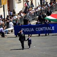 Foto Nicoloro G.  10/05/2015  Ravenna    Diciannovesimo raduno nazionale dei Marinai d' Italia. nella foto sfilano i marinai della Puglia.