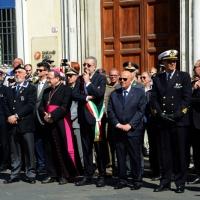 Foto Nicoloro G.   10/05/2015  Ravenna    Diciannovesimo raduno nazionale dei Marinai d' Italia. nella foto le autorità civili, militari e religiose.