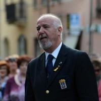Foto Nicoloro G.   10/05/2015  Ravenna    Diciannovesimo raduno nazionale dei Marinai d' Italia. nella foto il presidente dell' ANMI Paolo Pagnottella.