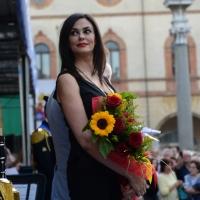 Foto Nicoloro G.   10/05/2015  Ravenna    Diciannovesimo raduno nazionale dei Marinai d' Italia. nella foto l' attrice Maria Grazia Cucinotta, testimonial dell' evento.
