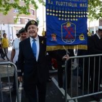 Foto Nicoloro G.  10/05/2015  Ravenna    Diciannovesimo raduno nazionale dei Marinai d' Italia. nella foto un veterano della flottiglia MAS.