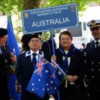 Foto Nicoloro G.  10/05/2015  Ravenna    Diciannovesimo raduno nazionale dei Marinai d' Italia. nella foto  marinai venuti direttamente dall' Australia.