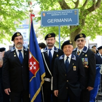 Foto Nicoloro G.  10/05/2015  Ravenna    Diciannovesimo raduno nazionale dei Marinai d' Italia. nella foto  marinai venuti direttamente dalla Germania.