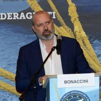 Foto Nicoloro G. 26/05/2017 Ravenna 2° Forum Nazionale sulla sicurezza nei Porti. nella foto il governatore della regione Emilia-Romagna Stefano Bonaccini.
