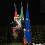 Foto Nicoloro G.   05/11/2019   Ravenna   Alla presenza del Capo dello Stato si e' svolta la cerimonia in ricordo di Benigno Zaccagnini, nel trentesimo anniversario della sua morte. nella foto il sindaco di Ravenna Michele De Pascale.