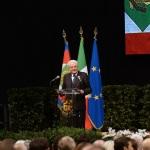 Foto Nicoloro G.   05/11/2019   Ravenna   Alla presenza del Capo dello Stato si e' svolta la cerimonia in ricordo di Benigno Zaccagnini, nel trentesimo anniversario della sua morte. nella foto il presidente Sergio Mattarella durante il suo intervento.