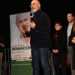 Foto Nicoloro G.   18/01/2020   Ravenna    Campagna elettorale per le votazioni regionali del 26 gennaio in Emilia-Romagna. nella foto Stefano Bonaccini, candidato e presidente uscente della regione Emilia-Romagna.