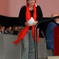 Foto Nicoloro G. 14/12/2018 Riccione ( Rimini ) Terza giornata del 27° Congresso Nazionale FIOM-CGIL. nella foto la segretaria generale CGIL Susanna Camusso.