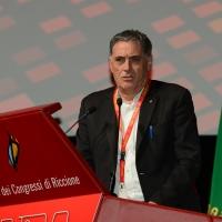 Foto Nicoloro G. 12/12/2018 Riccione ( Rimini ) Si e' aperto il 27° Congresso Nazionale FIOM-CGIL. nella foto Rocco Palombella, segretario generale UILM.