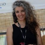 Foto Nicoloro G.   15/08/2019  Cervia ( Ra )   27° edizione di ' Cervia, la spiaggia ama il libro ' con il tradizionale sbarco degli scrittori dalle imbarcazioni storiche. nella foto la fumettista e scrittrice Paola Barbato.