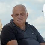 Foto Nicoloro G.   15/08/2019  Cervia ( Ra )   27° edizione di ' Cervia, la spiaggia ama il libro ' con il tradizionale sbarco degli scrittori dalle imbarcazioni storiche. nella foto il giornalista Giancarlo Mazzuca.