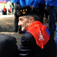 Foto Nicoloro G. 27/05/2012 Ravenna Si e' svolto nella città romagnola il 31° Raduno Nazionale dei Fanti d' Italia con la partecipazione del ministro della Difesa l' ammiraglio Gianpaolo Di Paola. nella foto Un vecchio fante