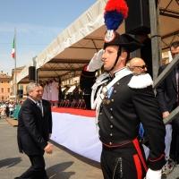 Foto Nicoloro G. 27/05/2012 Ravenna Si e' svolto nella città romagnola il 31° Raduno Nazionale dei Fanti d' Italia con la partecipazione del ministro della Difesa l' ammiraglio Gianpaolo Di Paola. nella foto Gianpaolo Di Paola