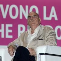 Foto Nicoloro G.   20/08/2018  Rimini   Seconda giornata dell' edizione 2018 del Meeting di C.L. che quest' anno ha per tema ' Le forze che muovono la storia sono le stesse che rendono l' uomo felice '. nella foto il filosofo Salvatore Natoli.