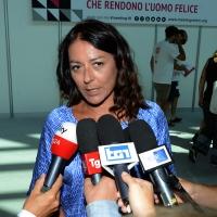 Foto Nicoloro G. 21/08/2018 Rimini Terza giornata dell' edizione 2018 del Meeting di C.L. che quest' anno ha per tema ' Le forze che muovono la storia sono le stesse che rendono l' uonmo felice '. nella foto Barbara Saltamartini, deputata della Lega.