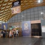Foto Nicoloro G.   18/08/2019  Rimini   40° edizione del ' Meeting per l' amicizia fra i popoli ' che quest' anno ha per titolo ' Nacque il tuo nome da cio' che fissavi '. nella foto ingresso ad una delle mostre allestite.