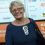 21/08/2019  Rimini    Quarta giornata della 40° edizione del ' Meeting per l' amicizia fra i popoli ' che quest' anno ha per titolo ' Nacque il tuo nome da cio' che fissavi '. nella foto Annamaria Furlan, segretaria generale CISL.