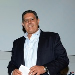 Foto Nicoloro G.   23/08/2019  Rimini    Sesta giornata della 40° edizione del ' Meeting per l' amicizia fra i popoli ' che quest' anno ha per titolo ' Nacque il tuo nome da cio' che fissavi '. nella foto Giovanni Toti, governatore della Liguria.