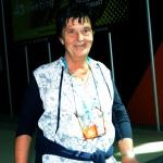 19/08/2019  Rimini   Seconda giornata della 40° edizione del ' Meeting per l' amicizia fra i popoli ' che quest' anno ha per titolo ' Nacque il tuo nome da cio' che fissavi '. nella foto Emilia Guarnieri, presidente Fondazione Meeting.