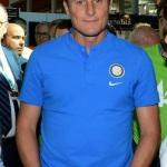 Foto Nicoloro G.   19/08/2019  Rimini   Seconda giornata della 40° edizione del ' Meeting per l' amicizia fra i popoli ' che quest' anno ha per titolo ' Nacque il tuo nome da cio' che fissavi '. nella foto Javier Zanetti, vicepresidente Inter Calcio e membro FIFA.