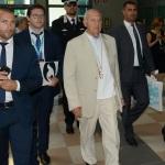 Foto Nicoloro G.   20/08/2019  Rimini    Terza giornata della 40° edizione del ' Meeting per l' amicizia fra i popoli ' che quest' anno ha per titolo ' Nacque il tuo nome da cio' che fissavi '. nella foto Paolo Savona, presidente CONSOB.