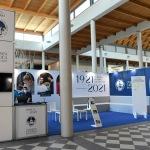 Foto Nicoloro G.   20/08/2021   Rimini    Prima giornata della 42° edizione del Meeting di Comunione e Liberazione che quest' anno ha per titolo ' Il coraggio di dire io '. nella foto lo stand dell' Universita' Cattolica.