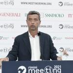 Foto Nicoloro G.   20/08/2021   Rimini    Prima giornata della 42° edizione del Meeting di Comunione e Liberazione che quest' anno ha per titolo ' Il coraggio di dire io '. nella foto il ministro del Lavoro Andrea Orlando