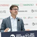 Foto Nicoloro G.   23/08/2021   Rimini   Quarta giornata della 42° edizione del Meeting di Comunione e Liberazione che quest' anno ha per titolo ' Il coraggio di dire io '. nella foto il sindaco di Firenze Dario Nardella.