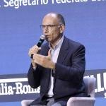 Foto Nicoloro G.   24/08/2021   Rimini   Quinta giornata della 42° edizione del Meeting di Comunione e Liberazione che quest' anno ha per titolo ' Il coraggio di dire io '. nella foto il segretario del PD Enrico Letta.