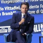 Foto Nicoloro G.   24/08/2021   Rimini   Quinta giornata della 42° edizione del Meeting di Comunione e Liberazione che quest' anno ha per titolo ' Il coraggio di dire io '. nella foto il professore Giuseppe Conte.