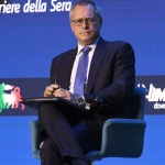 Foto Nicoloro G.   21/08/2021   Rimini    Seconda giornata della 42° edizione del Meeting di Comunione e Liberazione che quest' anno ha per titolo ' Il coraggio di dire io '. nella foto il presidente di Confindustria Carlo Bonomi.