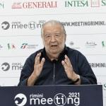 Foto Nicoloro G.   22/08/2021   Rimini    Terza giornata della 42° edizione del Meeting di Comunione e Liberazione che quest' anno ha per titolo ' Il coraggio di dire io '. nella foto il regista Pupi Avati.