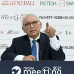 Foto Nicoloro G.   22/08/2021   Rimini   Terza giornata della 42° edizione del Meeting di Comunione e Liberazione che quest' anno ha per titolo ' Il coraggio di dire io '. nella foto il ministro Patrizio Bianchi.