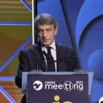 Foto Nicoloro G.   22/08/2021   Rimini    Terza giornata della 42° edizione del Meeting di Comunione e Liberazione che quest' anno ha per titolo ' Il coraggio di dire io '. nella foto il presidente del Parlamento Europeo Davide Sassoli.