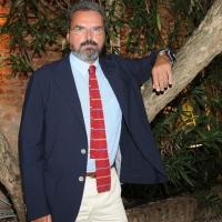 """Foto Nicoloro G. 02/09/2011 Venezia, Conferenza stampa di presentazione dei cinque finalisti del """"Premio Campiello Letteratura"""" alla sua quarantanovesima edizione. nella foto Andrea Molesini"""