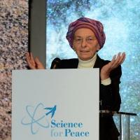 Foto Nicoloro G. 17/11/2017 Milano 9° edizione di 'Science for Peace ', Conferenza mondiale dal titolo ' Post-Verita''. nella foto Emma Bonino.