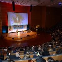 Foto Nicoloro G. 28-29/01/2017 Rimini Assemblea nazionale amministratori locali. nella foto una veduta del salone dell' assemblea.