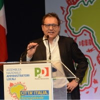 Foto Nicoloro G. 28-29/01/2017 Rimini Assemblea nazionale amministratori locali. nella foto il sindaco di Treviso Giovanni Manildo.
