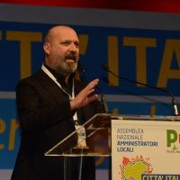 Foto Nicoloro G. 28-29/01/2017 Rimini Assemblea nazionale amministratori locali. nella foto il governatore dell' Emilia.Romagna Stefano Bonaccini.