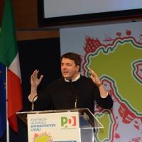 Foto Nicoloro G.   28-29/01/2017   Rimini   Assemblea nazionale amministratori locali. nella foto il segretario PD Matteo Renzi.