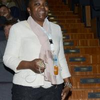 Foto Nicoloro G.   28-29/01/2017   Rimini  Seconda e conclusiva giornata dell' Assemblea nazionale amministratori locali. nella foto l' onorevole PD Cecile Kyenge.